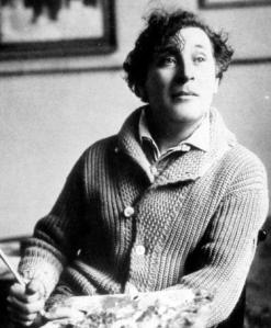 Avis marc chagall autoportrait aux 7 doigts lino-gravur