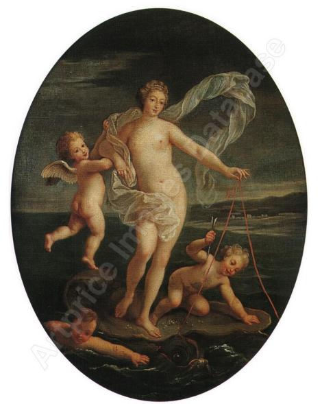 boulogne Vénus et Adonis La naissance de Vénus