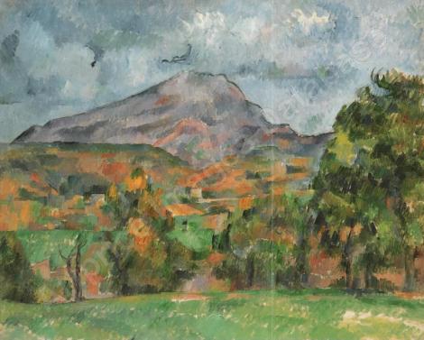 La montagne Sainte-Victoire cézanne