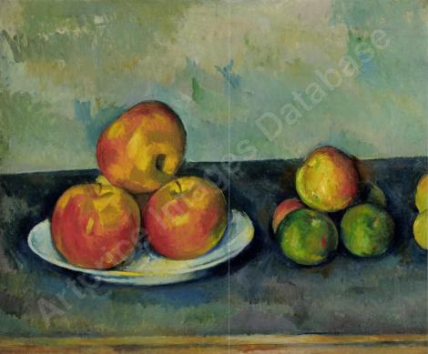 les pommes cézanne