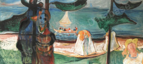 Summer Day par Edvard Munch