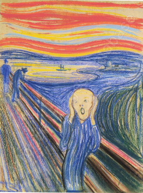 The scream (呐喊) par Edvard Munch