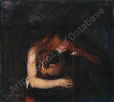 Vampire par Edvard Munch