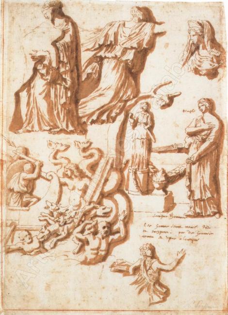 Studies after Antique Reliefs