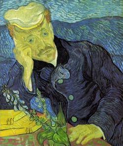 van gogh Portrait du Docteur Gachet