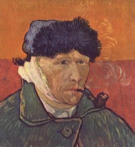 van gogh portrait pipe pour WP