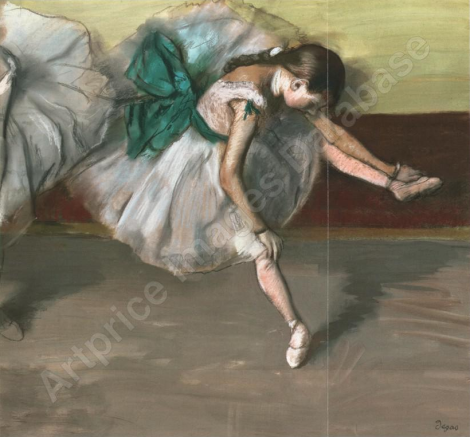 Danseuse au repos par Edgar DEGAS