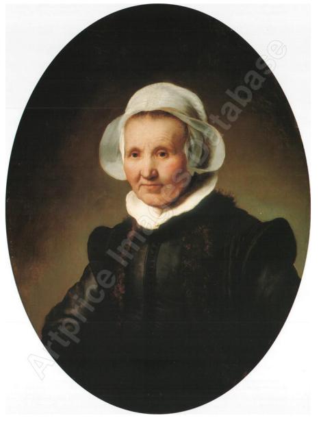 Portrait of a Lady, Aged 62, Perhaps Aeltje PieterdrUylenburgh