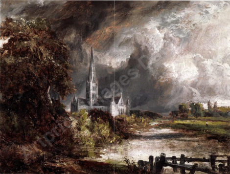 Salisbury Cathedral From the Meadows (artprice images)