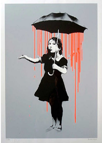 BANKSY - Orange Nola AP