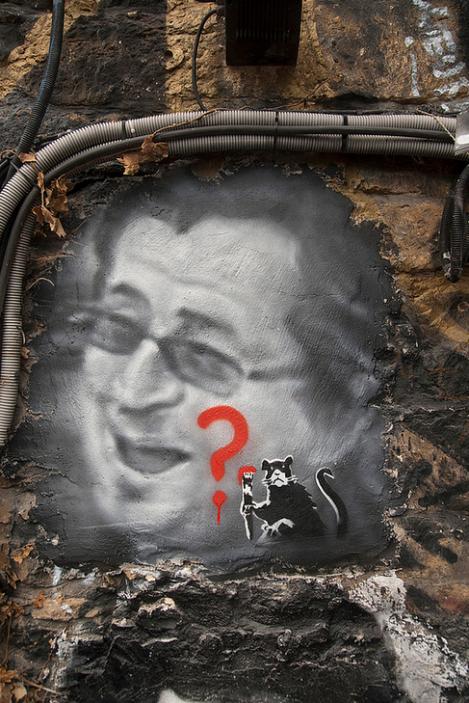 Banksy, portrait à la Demeure du Chaos