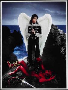 David LACHAPELLE - American Jesus:  Archangel Michael Jackson