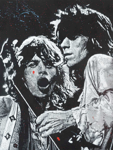 JEF AÉROSOL - Mick Jagger & Keith Richards